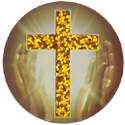 Bible Believers gold cross